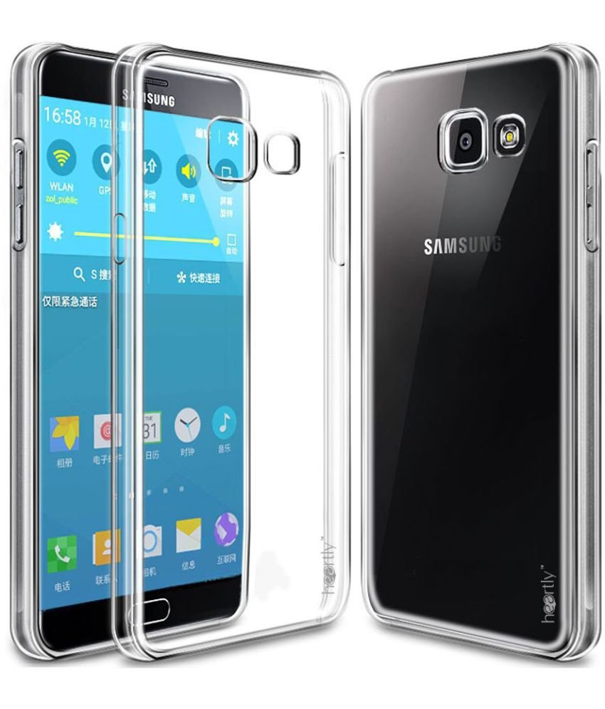 Samsung Galaxy A9 Pro Cover By Heartly Transparent Plain Back