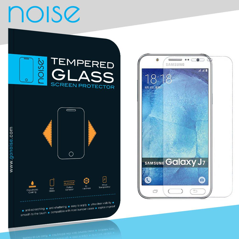 Samsung Galaxy J7 (2016) Tempered Glass Screen Guard By Noise