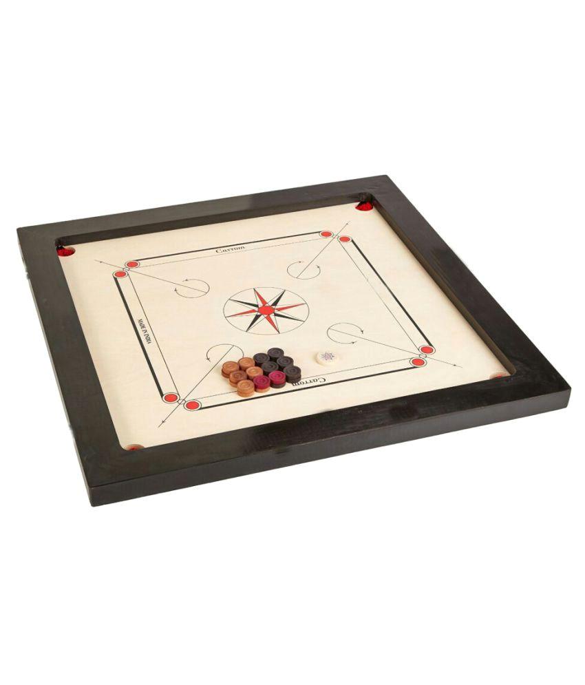 Meerut Sports Gallery Full Size Carrom Board 85 x 85 cm