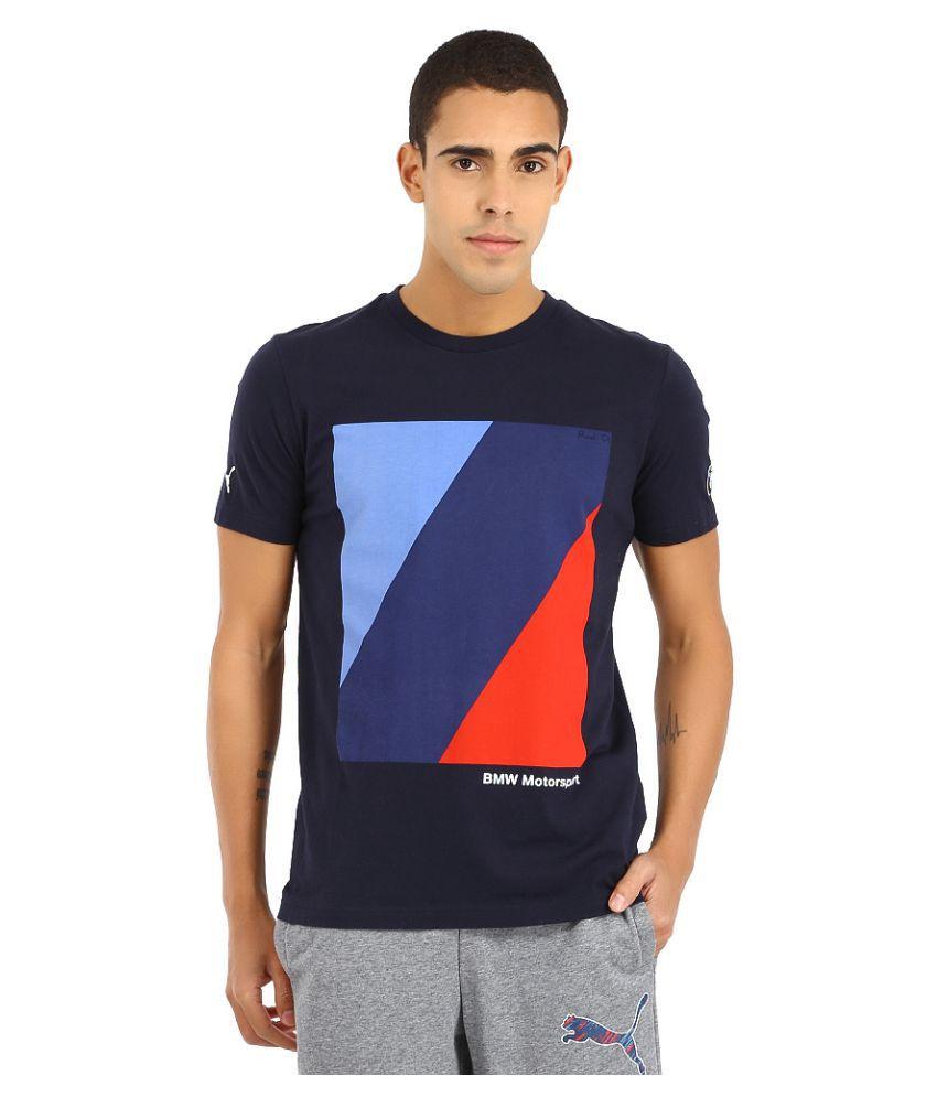 Puma Charcoal Polyester T-Shirt
