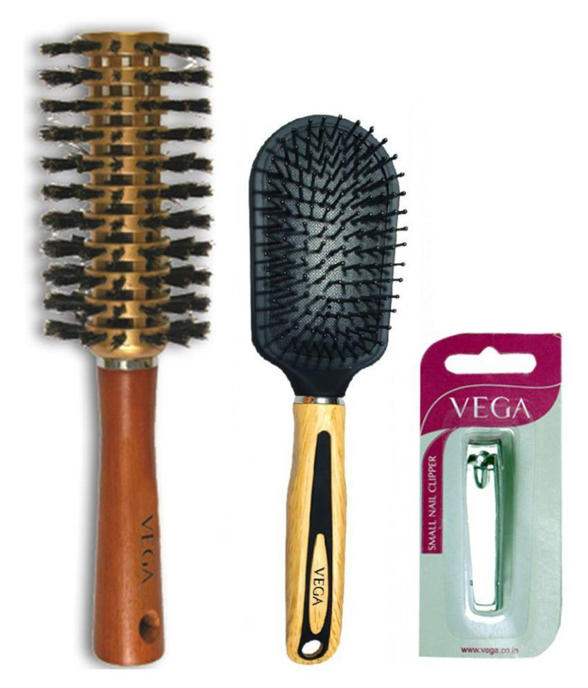 VEGA Vented Brush Pack of 3