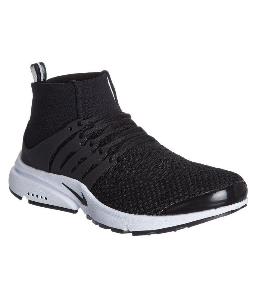 Nike running shoes black