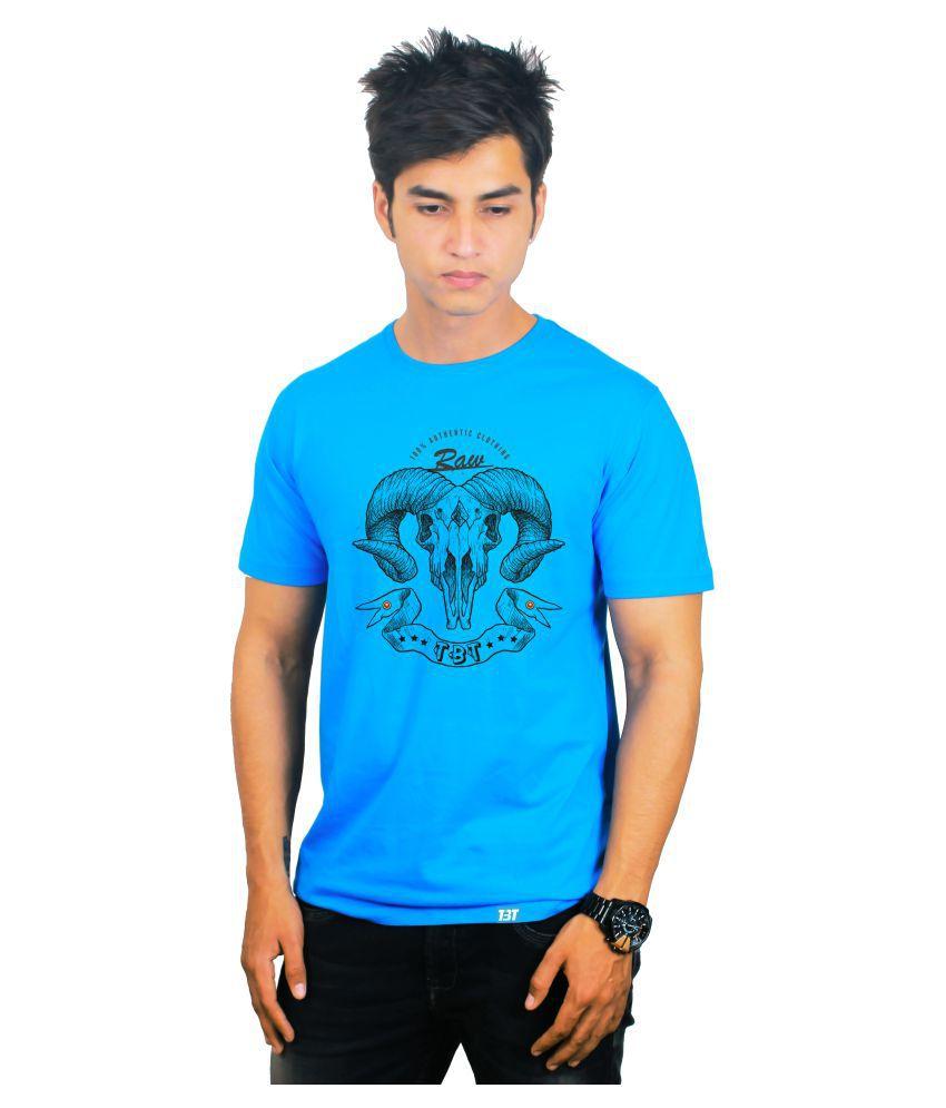 The Banyan Tee Blue Round T-Shirt