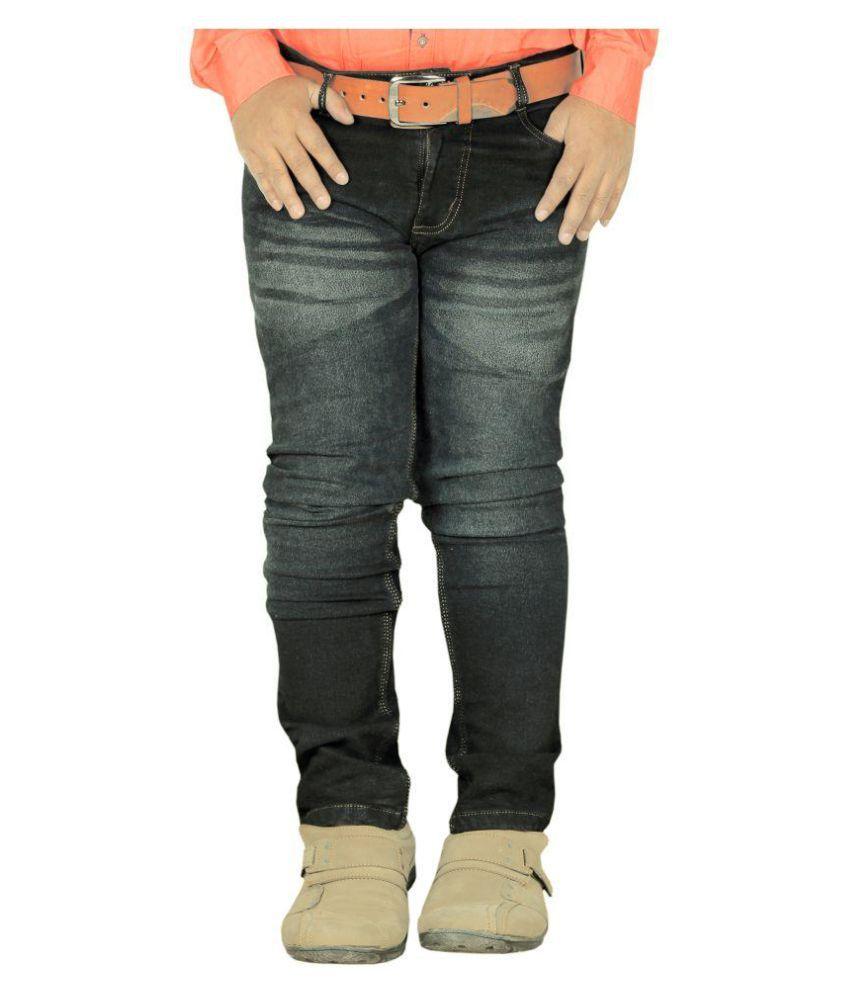 L,Zard Grey Regular Fit Jeans