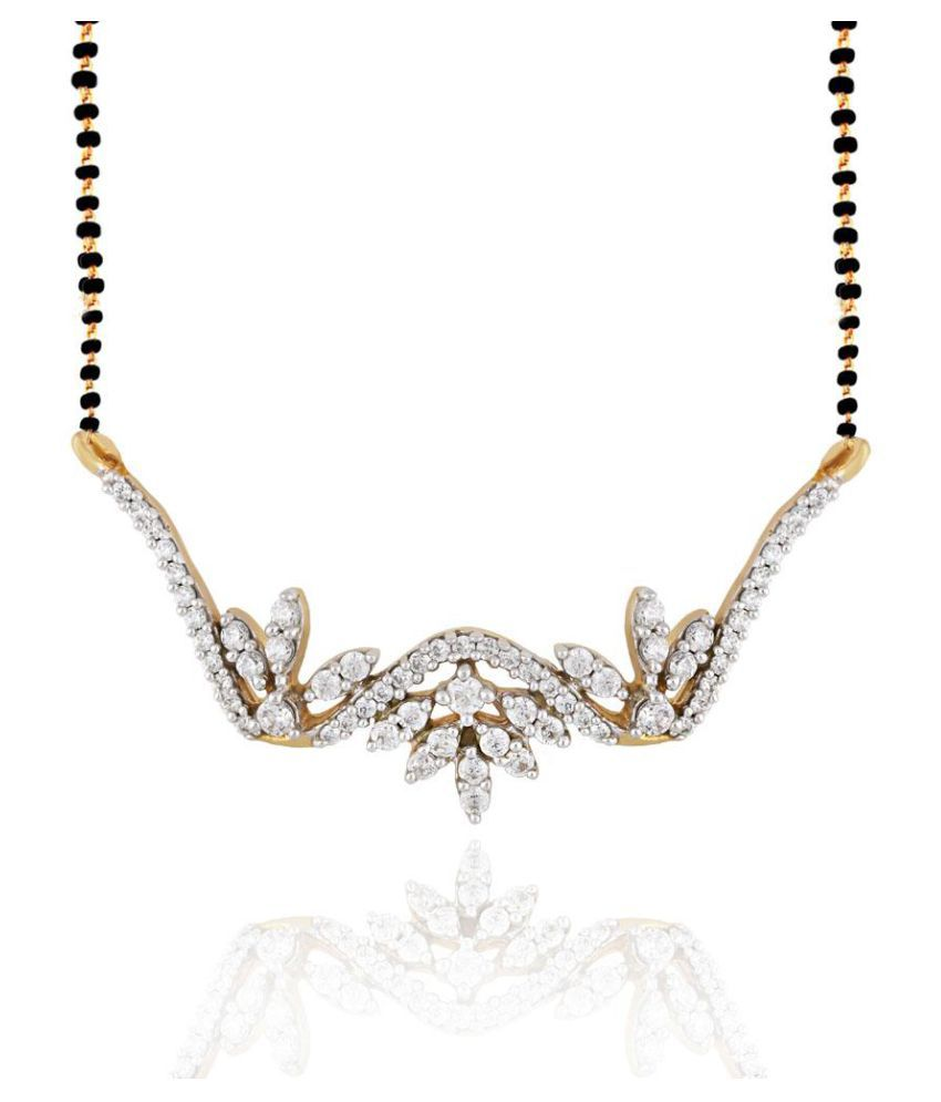 Sangini 18k Yellow Gold Diamond Mangalsutra