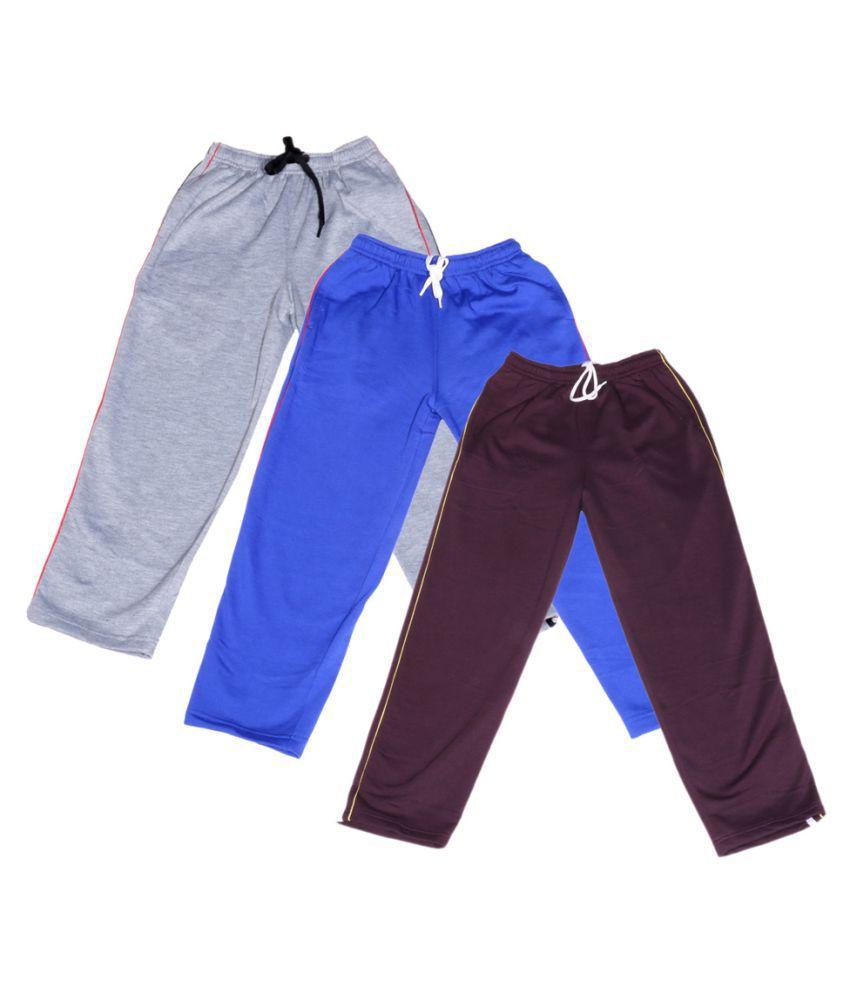 Indiweaves Multicolor Pyjama - Pack of 3