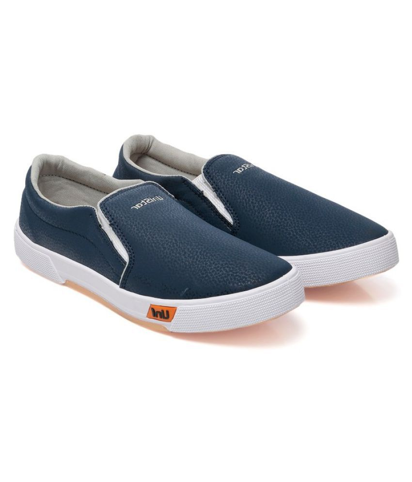 4592885503af Unistar Canvas Shoes For Men Sneakers Blue Casual Shoes - Buy ...