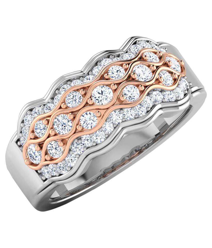 BDSJ 92.5 Silver Cubic zirconia Ring