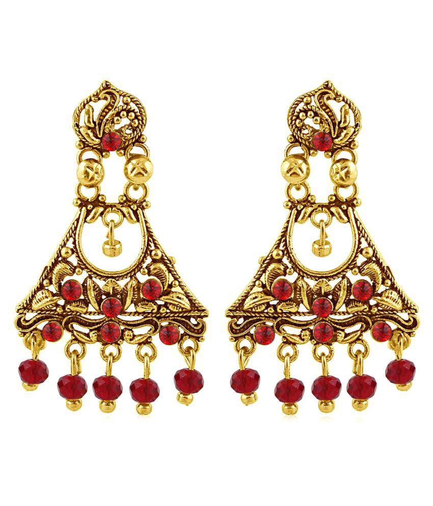 Sukkhi Gold Plated Earrings