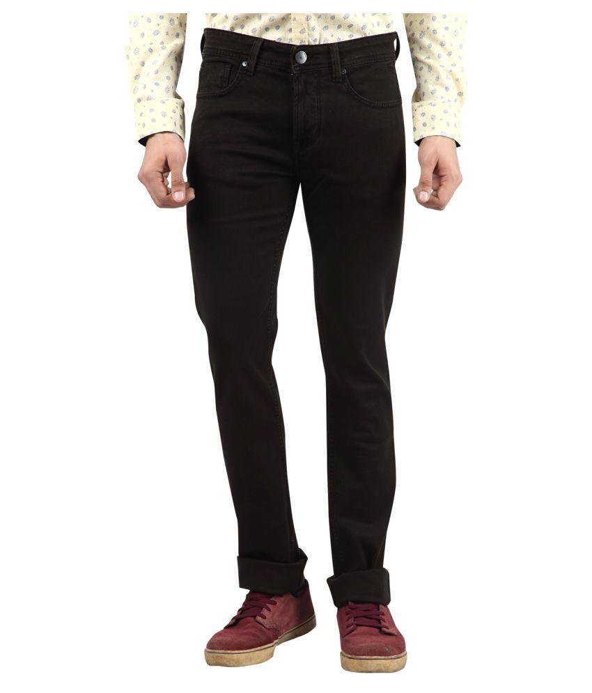 Killer Brown Slim Jeans