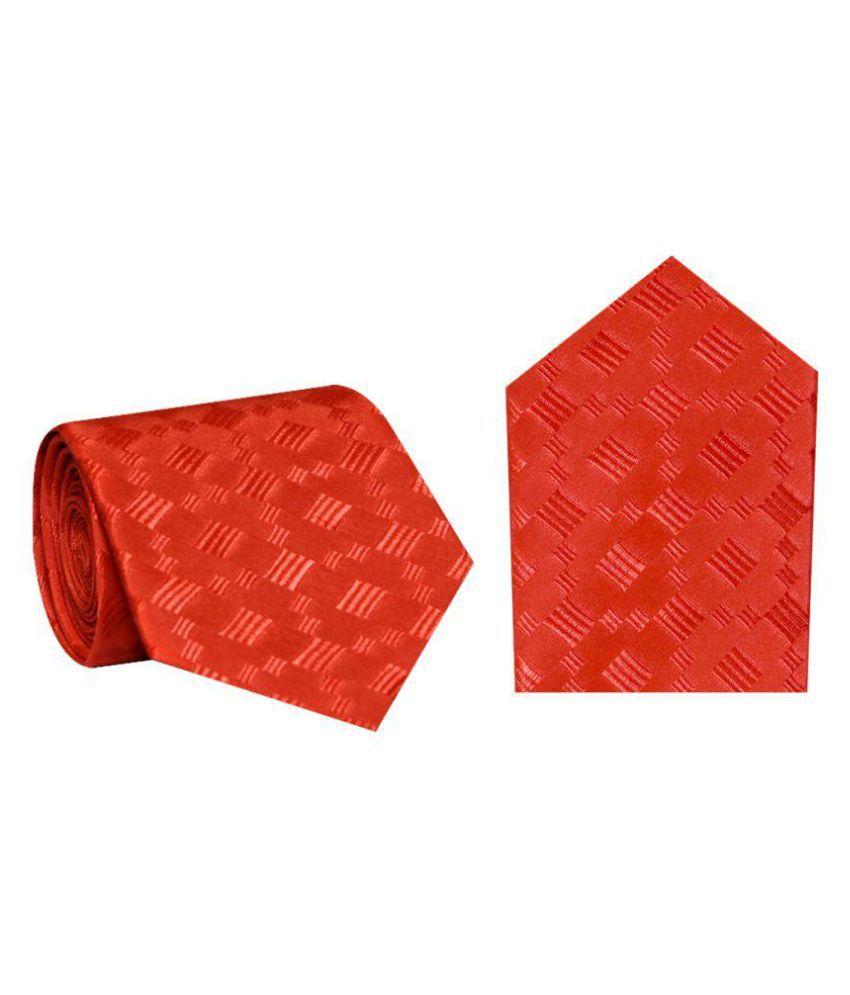 Posto Neckties Red Casual Necktie