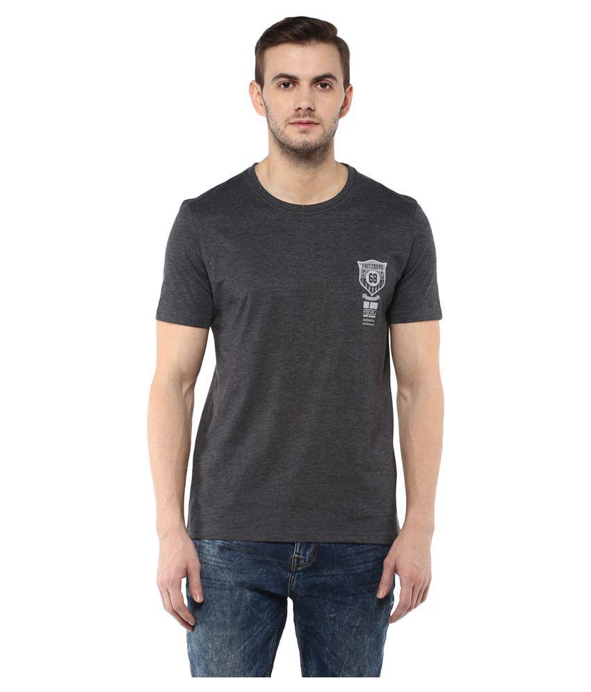 Fritzberg Grey Round T-Shirt