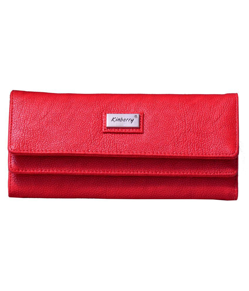 Kinberry Red Wallet