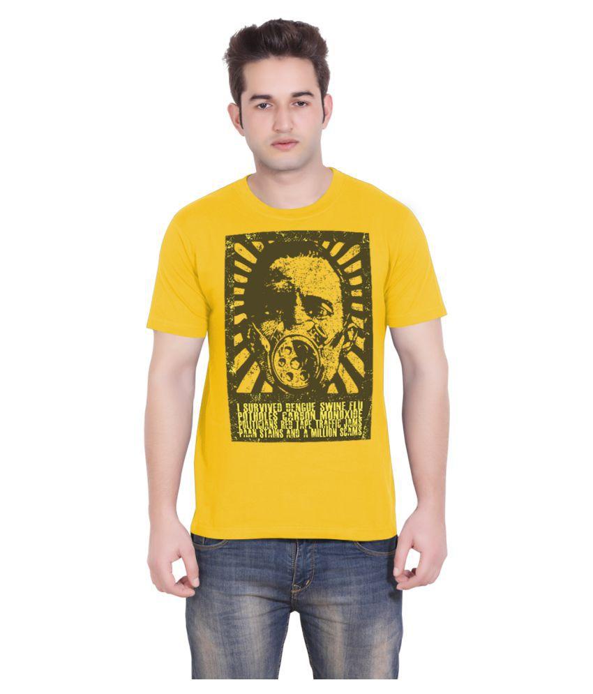 Tantraa Yellow Round T-Shirt