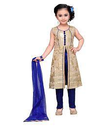 Adiva Girl's Party Wear Salwar Kameez Suit Set