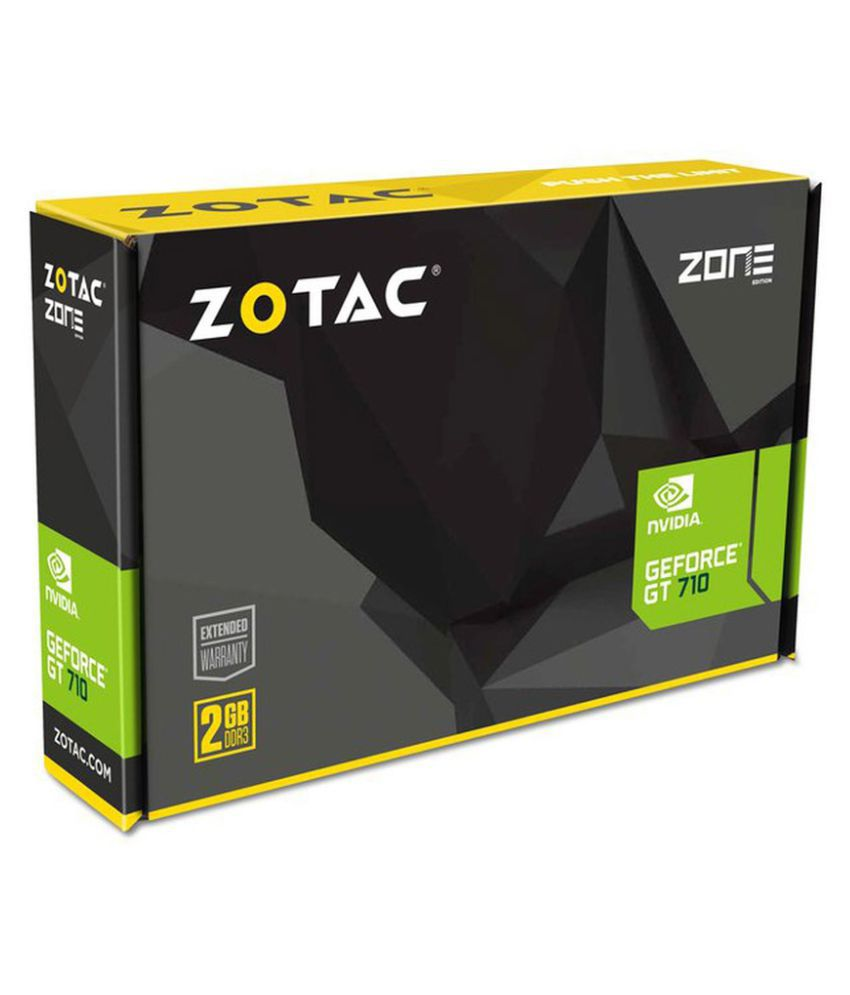 ZOTAC GeForce GT 710 Nvidia 2GB DDR3 Graphics Card