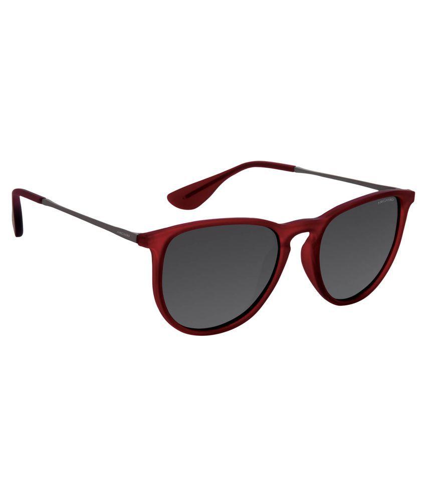 Arcadio Grey Wayfarer Sunglasses ( AAR134BG-GYP )