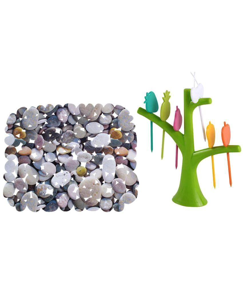 Imported 1 Pcs Plastic Fruit Fork: Buy Online at Best ...