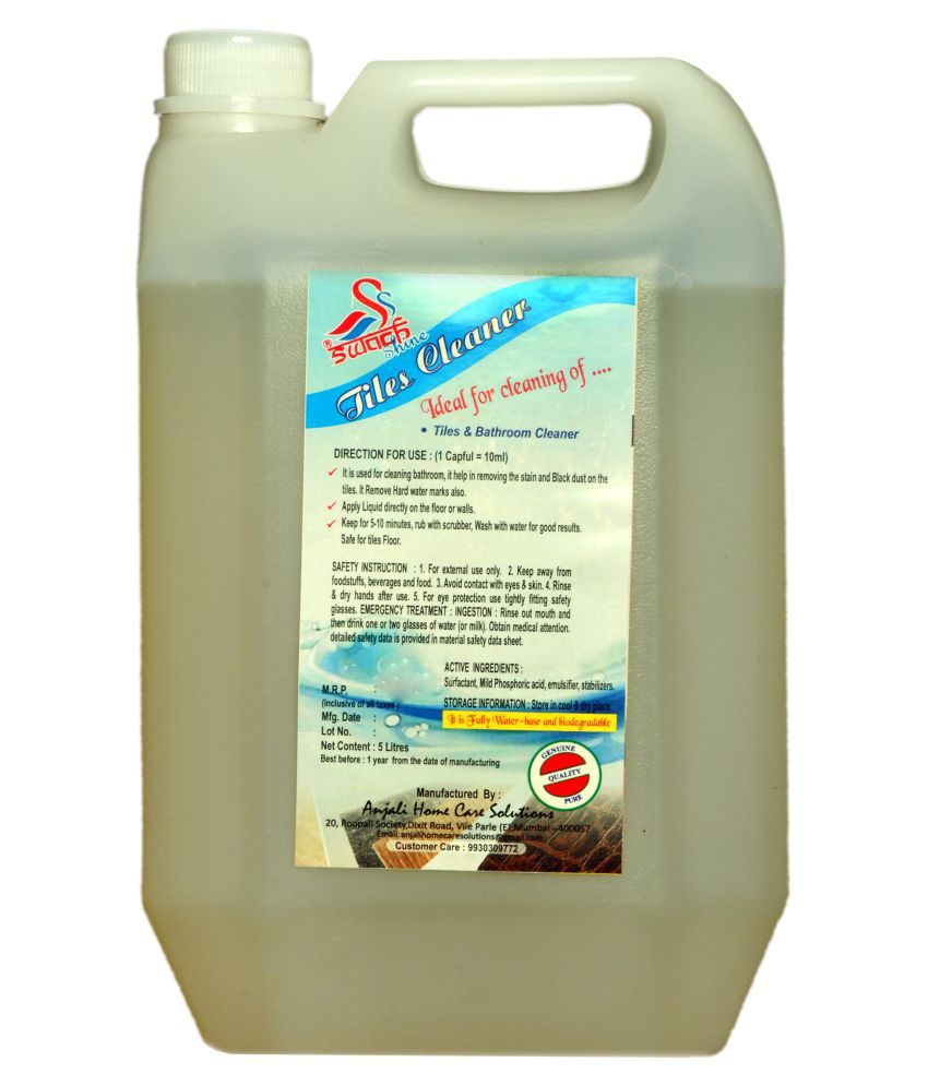 Swach Shine Tiles Bathroom All Purpose Cleaner Regular 5 L Buy Swach Shine Tiles Bathroom
