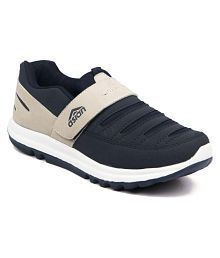 Asian Navy Blue Sports Shoes