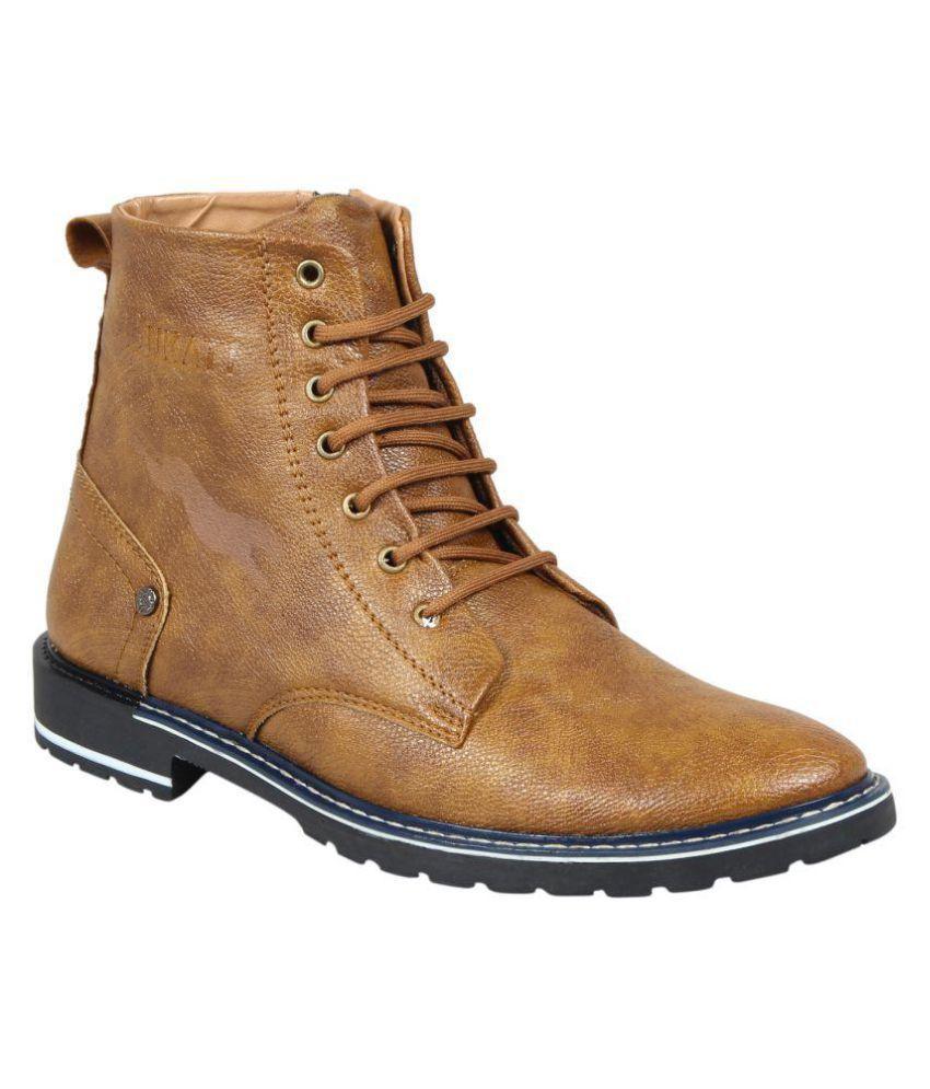 Kacey Tan Casual Boot