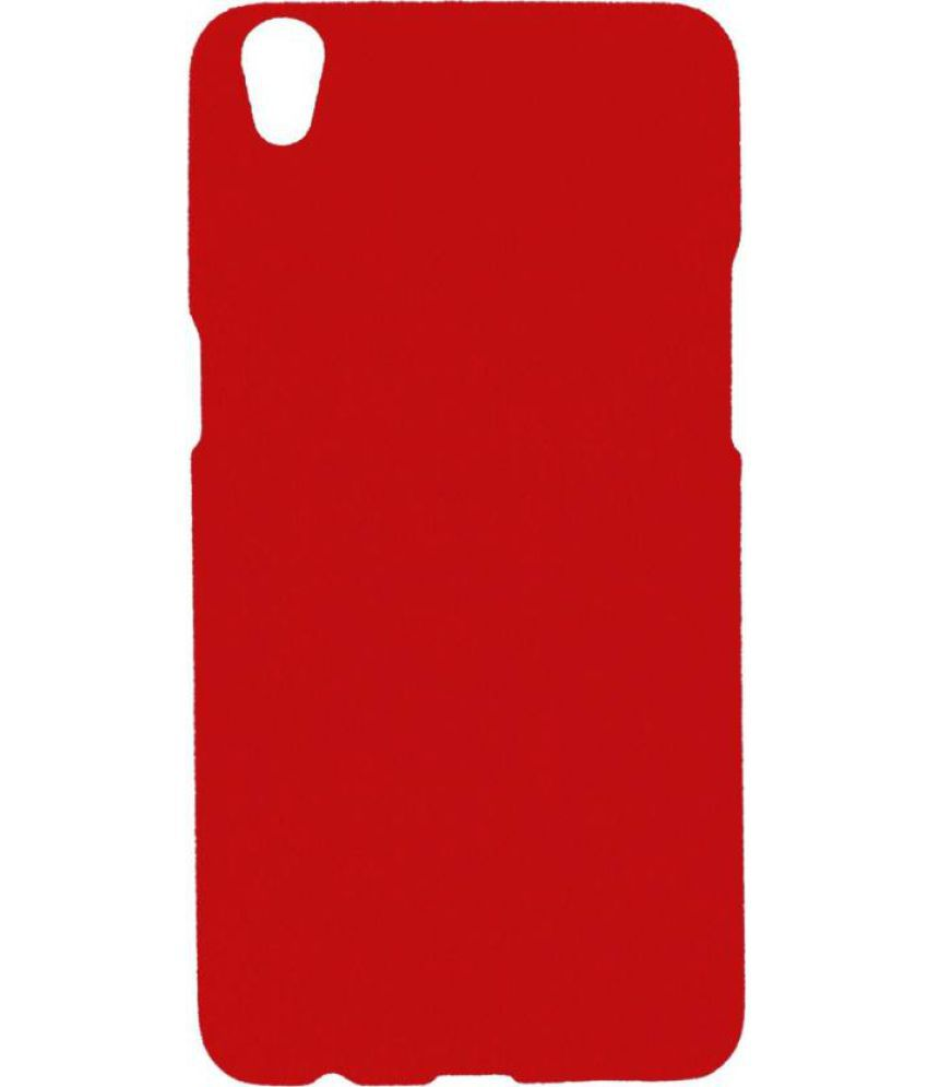 new styles 18bbf 6795c Oppo F1 Plus Cover by Vorson - Red - Plain Back Covers Online at Low ...