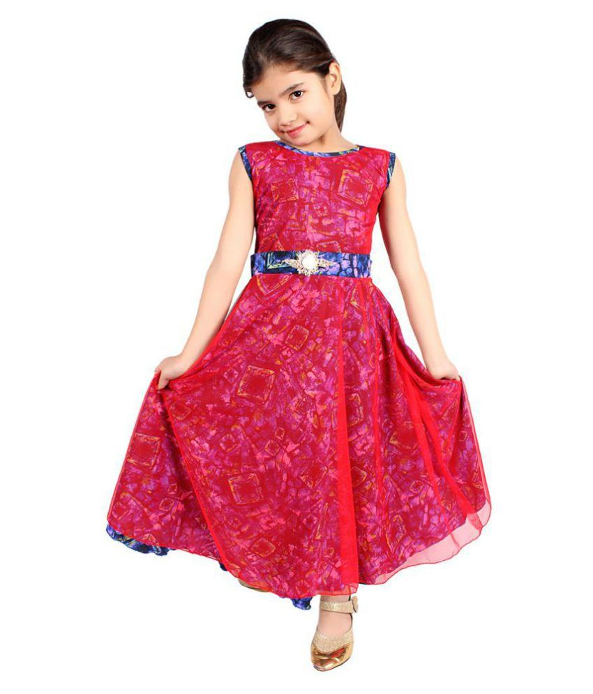 Delhiite Girls Casual Gowns - Buy Delhiite Girls Casual Gowns Online ...