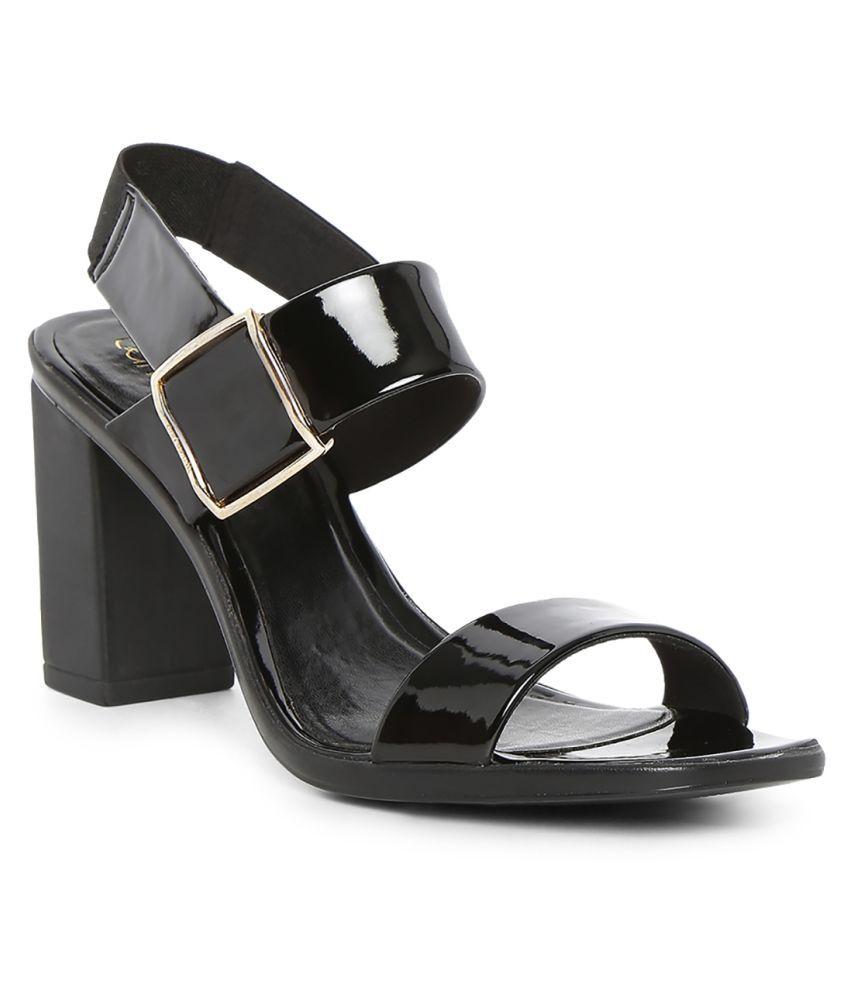 Catwalk Black Block Heels