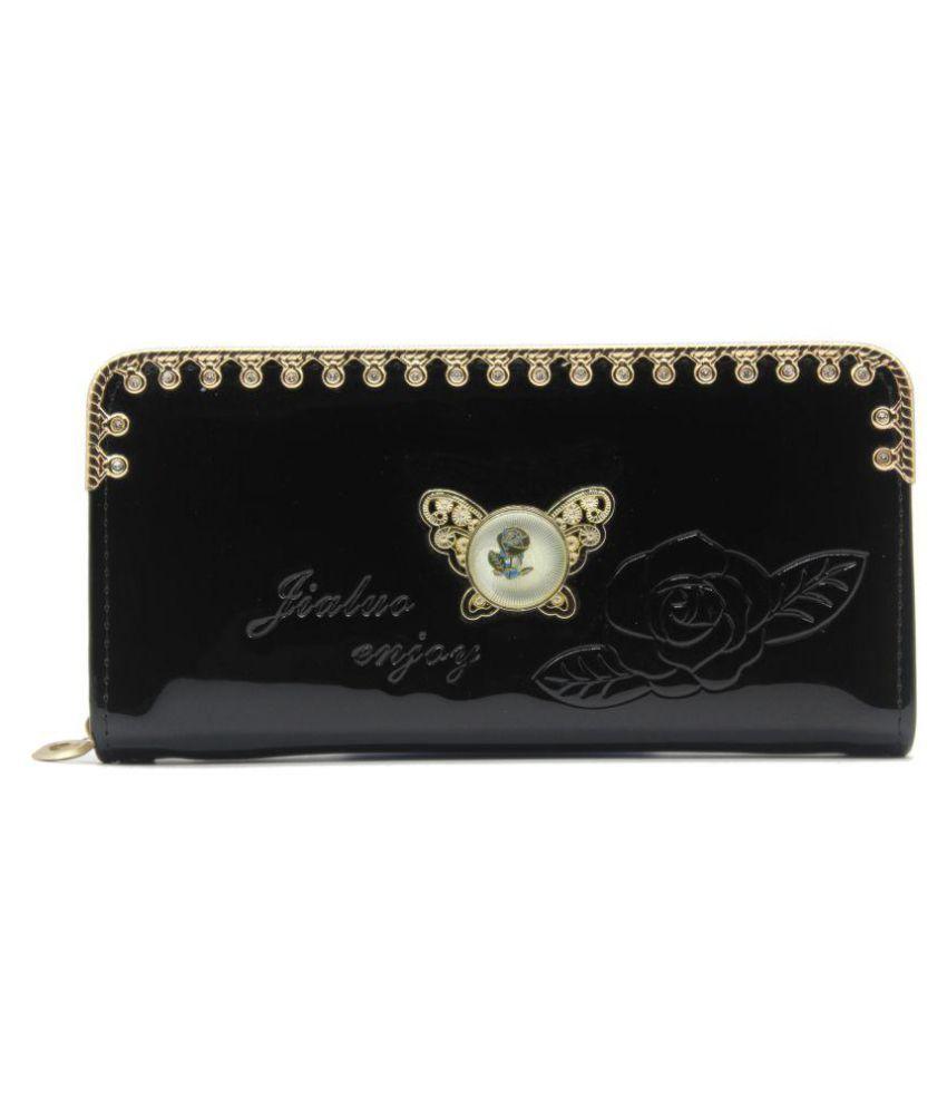 Trendy Black Wallet