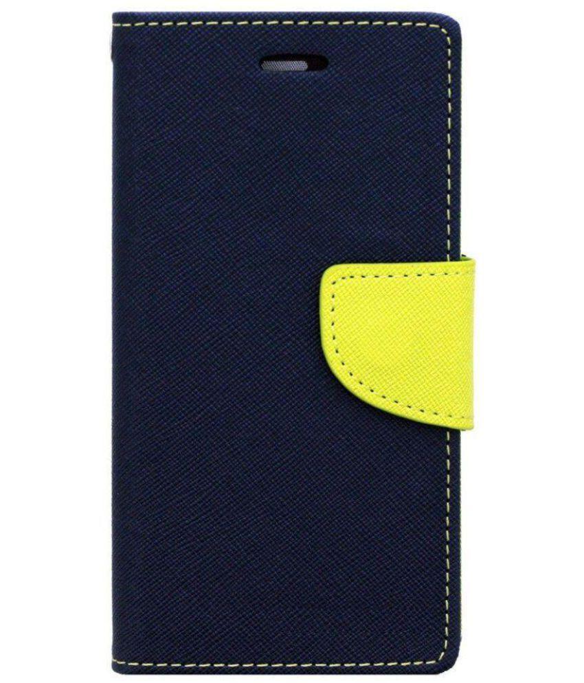 Sony Xperia E4 Flip Cover by Senshi - Blue