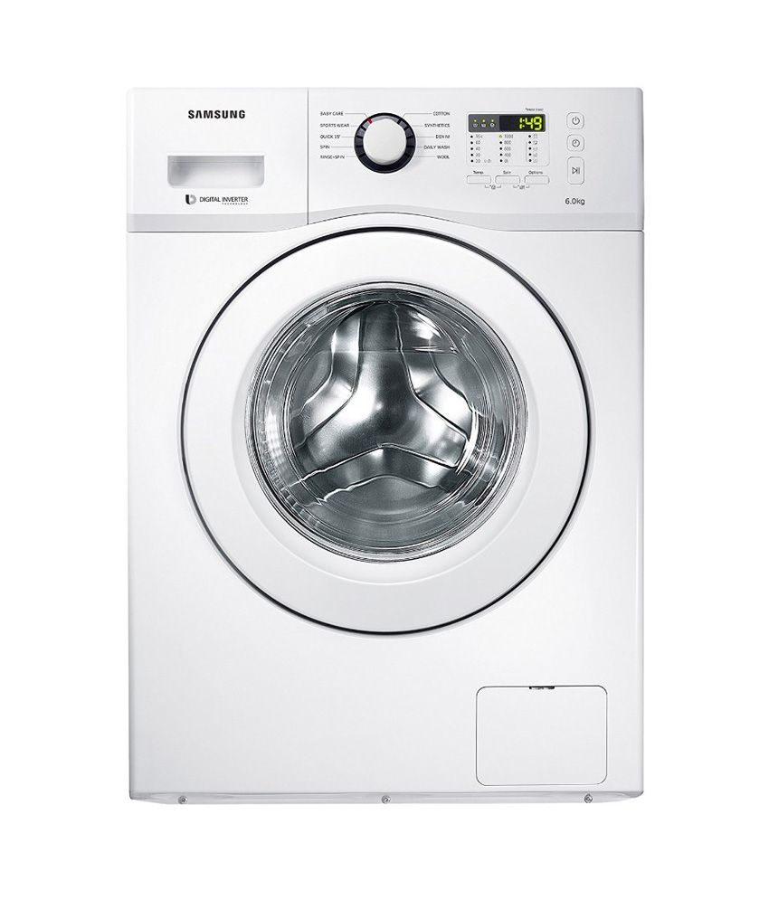 samsung 6 kg wf600b0btwq tl fully automatic front load washing machine price in india buy. Black Bedroom Furniture Sets. Home Design Ideas