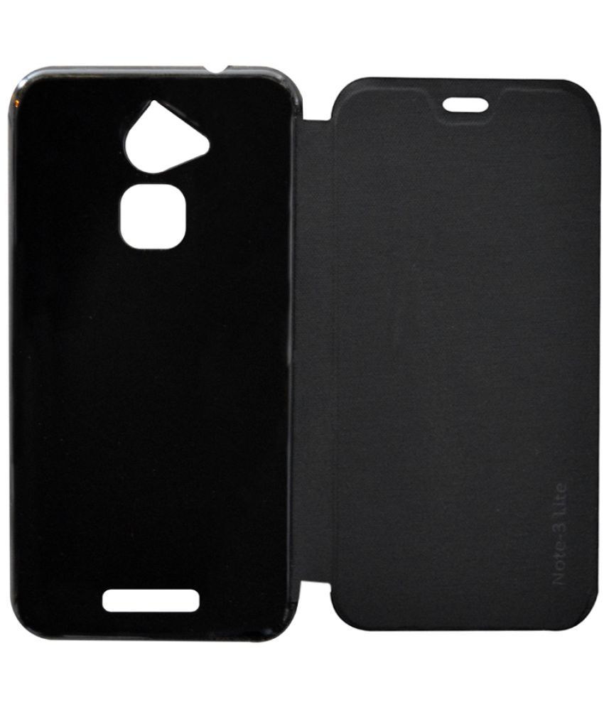 super popular 0c0ff 86cdc Coolpad Note 3 Lite Flip Cover by Coverage - Black