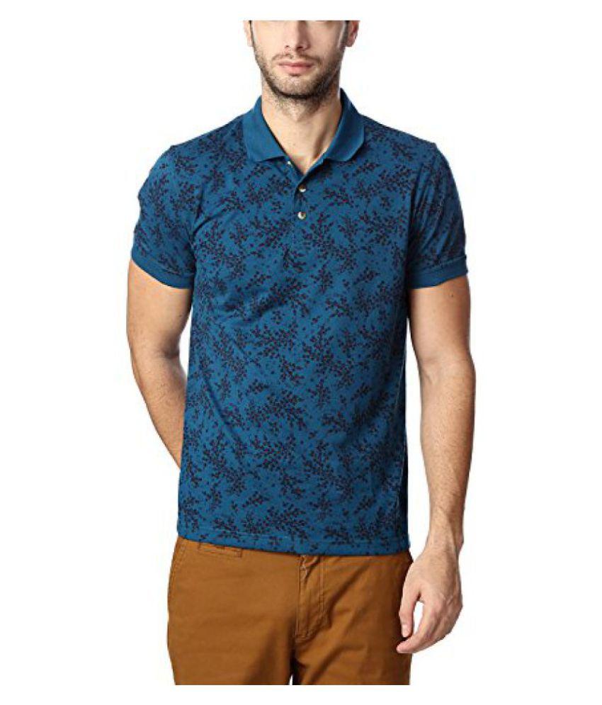Peter England Blue T Shirt