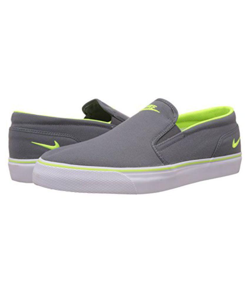 aad1602436233b Nike Mens Toki Slip Txt Cool Grey
