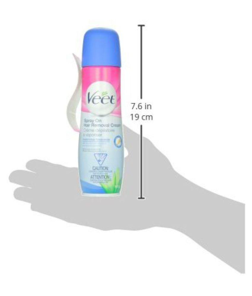 Veet Spray On Hair Remover Cream Sensitive Formula 5 10 Ounce