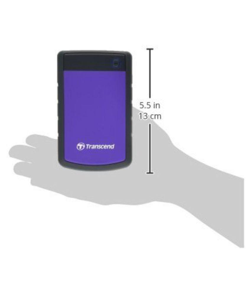 Transcend Storejet 25h3p 25 Inch 2tb Portable External Hard Drive Hardisk Eksternal 2 Tb Purple