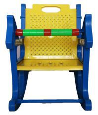 WonderKart Blue Baby Rocking Chair