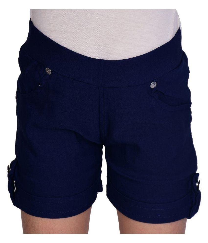 Neeya Fashions Blur Girls Shorts
