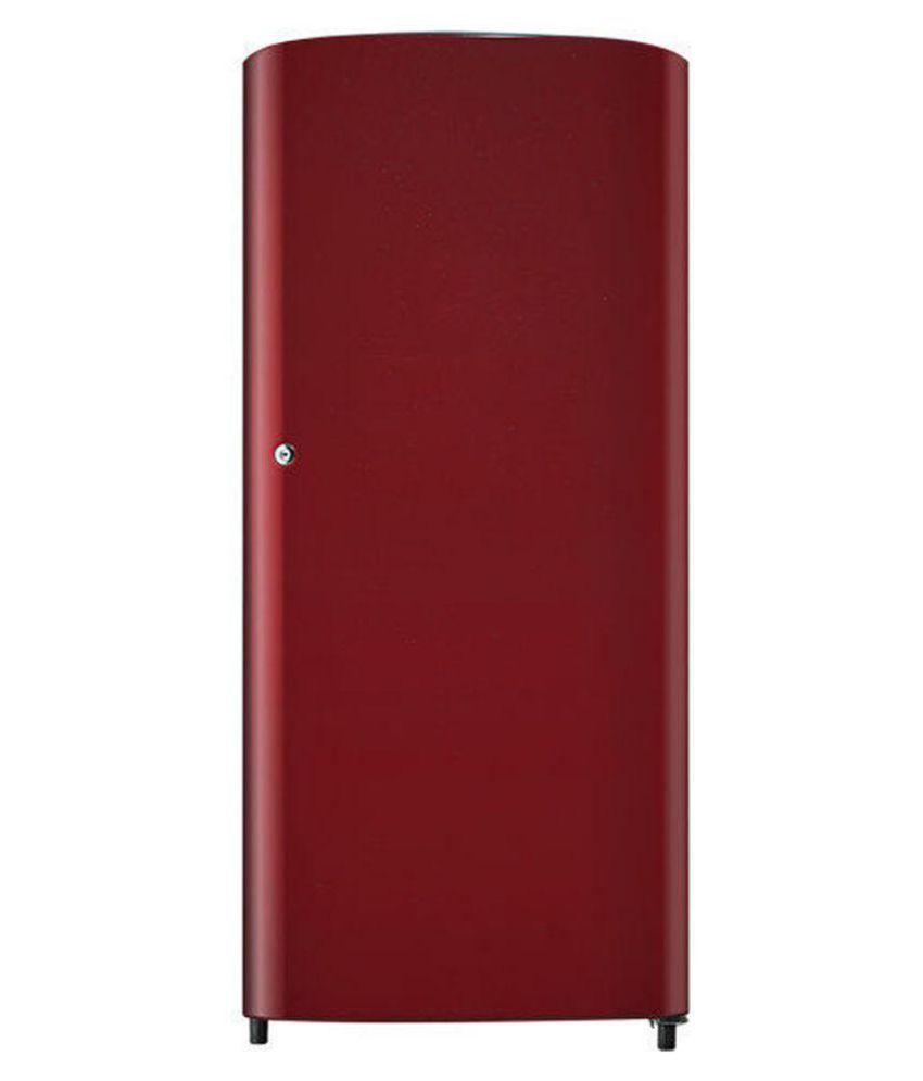 Samsung 192 ltr 1 star rr19h10c3rh single door for 1 door chiller