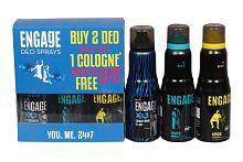 Engage Deodorants Mate 150 Ml+Urge 150 Ml + XX3 135 Ml