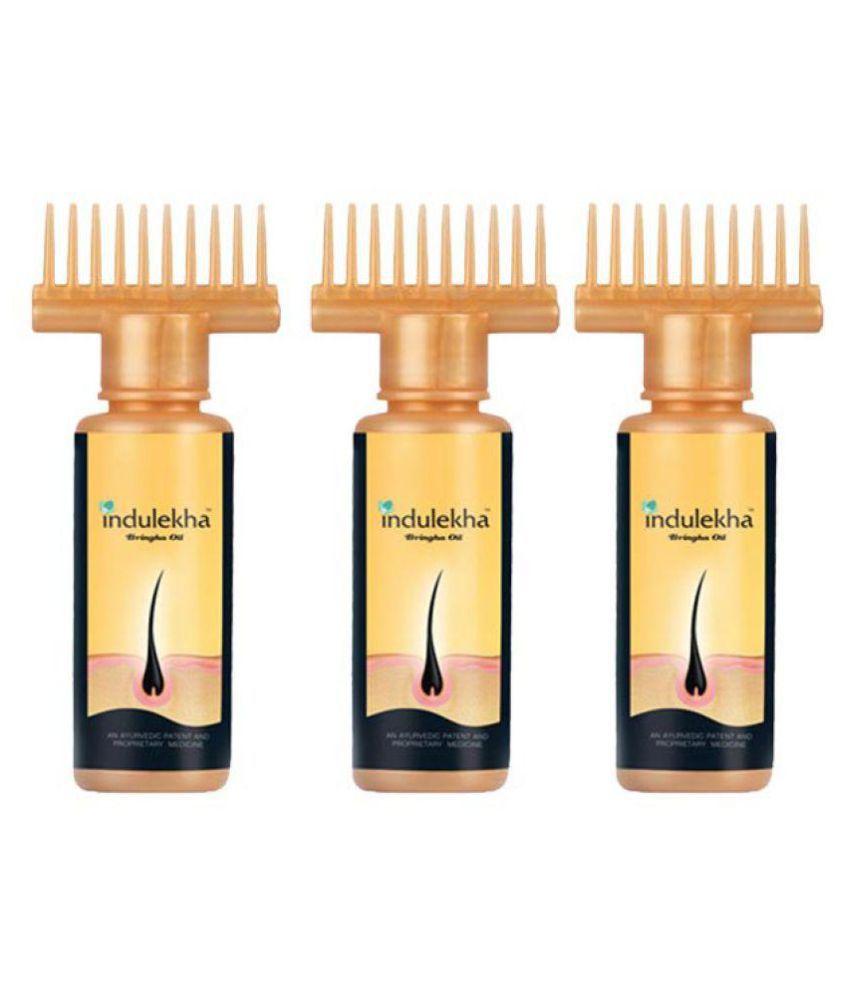 Indulekha Bringha Hair Oil 100 Ml Pack Of 3 Buy Indulekha