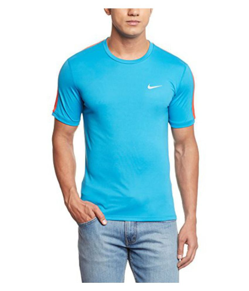 Nike Mens Round Neck Polyester T-Shirt