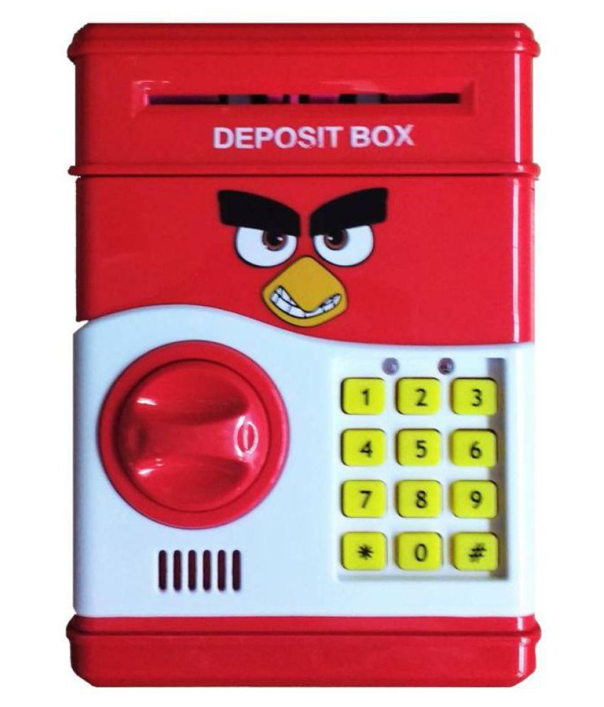 Latest Money Safe Kids Piggy Savings With Electronic Lock Coin Bank