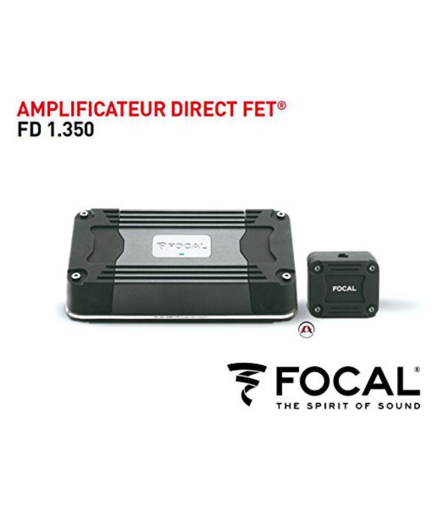 Focal FD 1.350 Mono Subwoofe Car Audio Amplifier 1 x350 RMS Ultra Compact Small