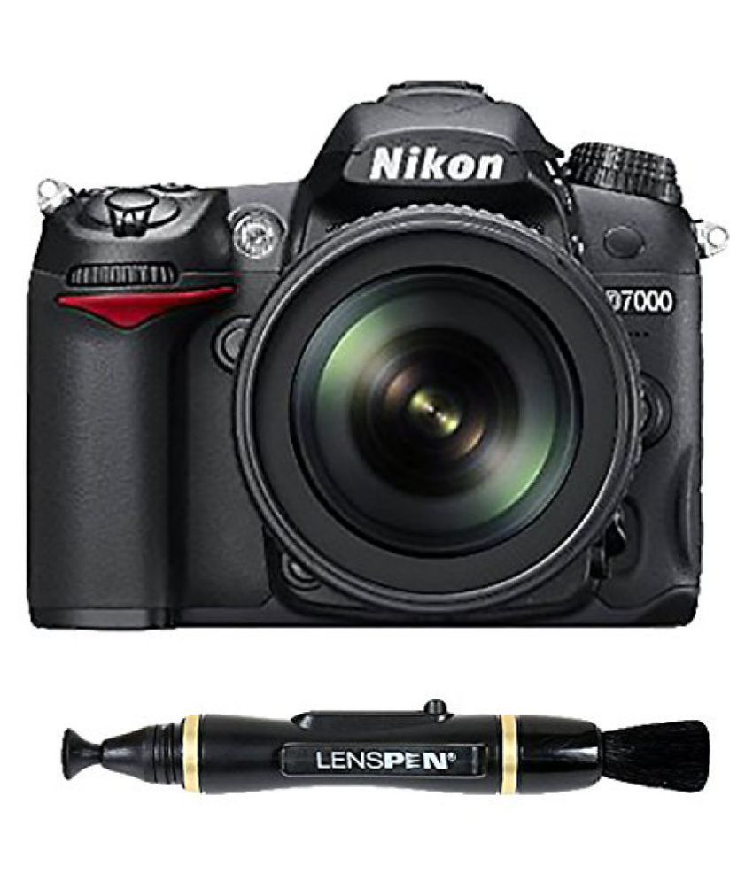 Nikon D7000 Kit (18-105mm VR Lens) + Lenspen NLP-1 Cleaning Brush (Black)