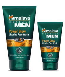 Himalaya MEN Power Glow Licorice Face Wash 150 Ml