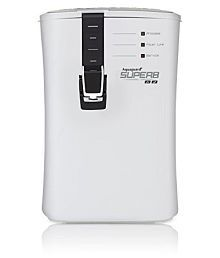 Eureka Forbes Aquaguard Superb 6.5-Litre UV + UF Water Purifier (Black/White)