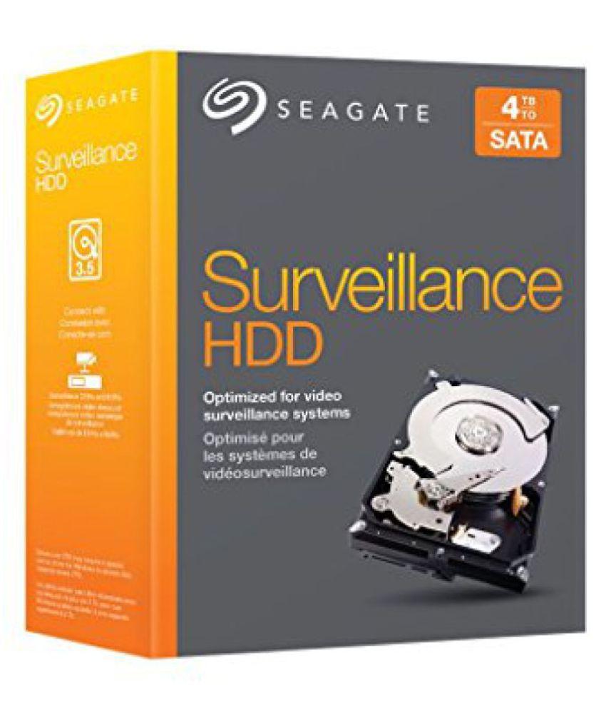 Seagate 4TB NAS HDD SATA 6Gb/s NCQ 64MB Cache 3.5