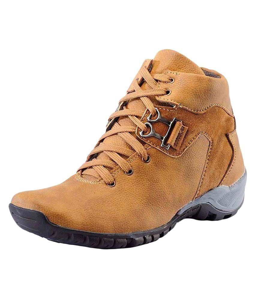 Gunit Brown Casual Boot