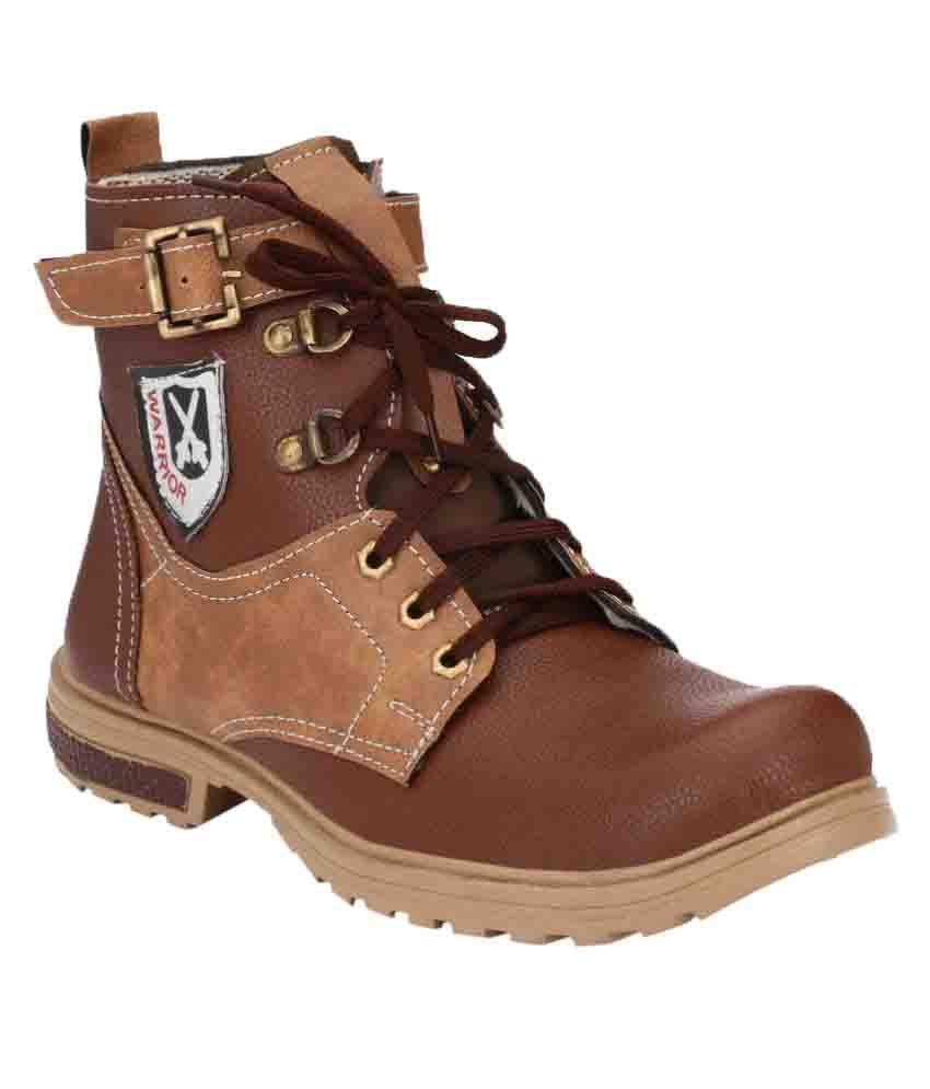 Shoe Day Brown Hiking & Trekking Boot